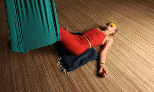 AIReal Restore:  Restorative Aerial Yoga Training with Carmen Curtis
